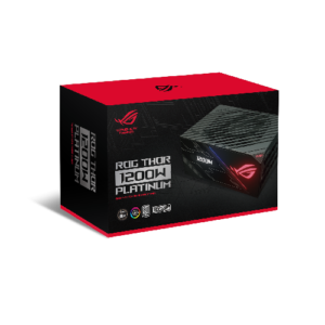 ASUS ROG-THOR-1200P - 1200W Platinum with Aura Sync and an OLED display