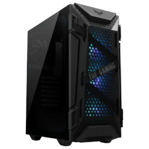 ASUS TUF Gaming GT301 ATX Mid-tower Compact Case with Tempered Glass