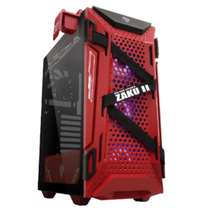 ASUS TUF Gaming GT301 ZAKU II EDITION ATX Mid-tower Compact Case with Tempered Glass